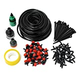 #10: Nimble House ®™ 25m 30 Drip Nozzles DIY for Garden Watering Sprinklers Plants Irrigator Dripper Hose Kits Greenhouse Drip Irrigation System