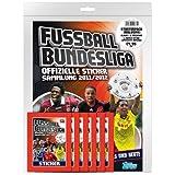 Topps TO90422 - Fußball Bundesliga 2011/2012 Starterpack, Stickeralbum mit 6 Tüten a 5 Stickern und 1 Match Attax Karte