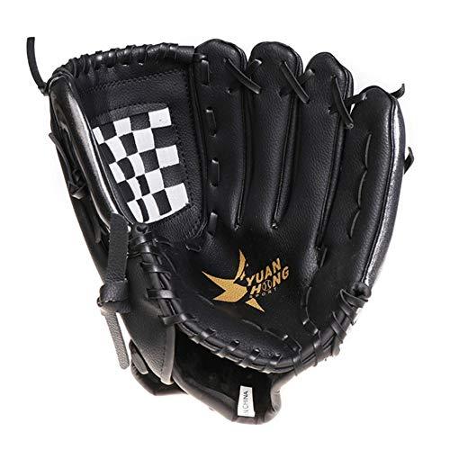 DNYJMDY07 Baseball-Handschuh-Sport-Schlaghandschuhe, verdicken umweltfreundliches PVC, PU-Handschuhe, Training innen und außen Feldballhandschuhe -11,5 Zoll -