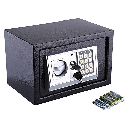 6.4l/8.5L/litros caja de seguridad en el mueble, caja fuerte de pared numérica Digital, caja de seguridad...