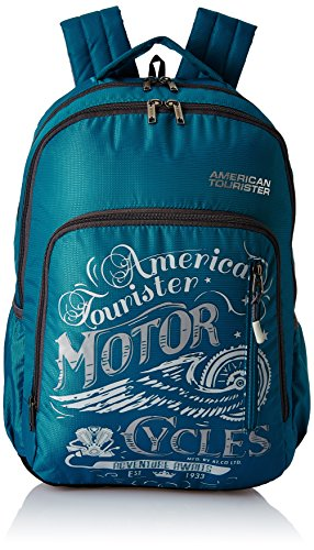 American Tourister 27 Ltrs Teal Casual Backpack (AMT BOOM BACKPACK 01 – TEAL)