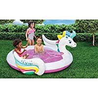 Banzai Pegasus Splash Pool Kids Garden Summer Inflatable Unicorn Durable PVC The Perfect Escape Paddling Pool Swimming Toy