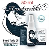 Best Moisturizer For Men - Aromazotika Beard & Hair Growth Tonic Oil With Review