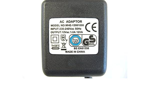 1000ma 12v 12va ac ac power adaptor supply amazon co uk electronics rh amazon co uk