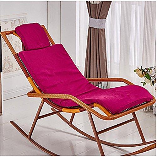 New day®-Rattan sedia a dondolo che si trova sedia cuscino sedia a dondolo cuscino culla sedia cuscino , b