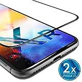 UTECTION 2X Pellicola in Vetro Temperato per iPhone XR (6.1') - con Strumento per Applicare - Ultra Clear AntiGraffio & Anti Urto - Formato...