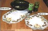 ovaler Tischläufer