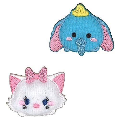 embleme Minoda Disney TSUM TSUM Marie & Dumbo D01Y0477