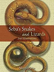 Seba's Snakes and Lizards (Dover Pictorial Archives)
