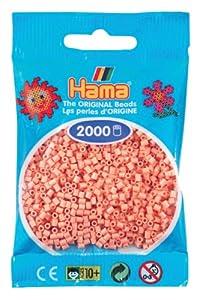DAN Import Hama Perlen 501-26 - Mini cuentas (2000 unidades), color rosa