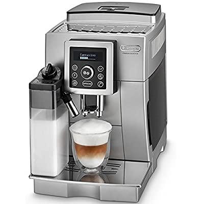 DELONGHI ECAM23.460 Bean to Cup Coffee Machine - Silver & Black by Delonghi