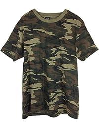 Herren T-Shirt Military Army Camouflage, Kurzarm