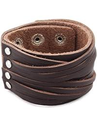 Cored Q032 Mens' Bracelet Leather