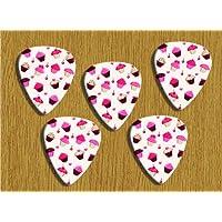 Cupcake 5x Loose Chitarra Picks