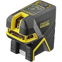 STANLEY FMHT1-77438 - Nivel laser de cruz + 2 puntos – Verde. 20 metros (50 metros con detector) ±3mm/m