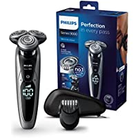 Philips Serie 9000 S9711/41 - Afeitadora eléctrica con barbero y display digital, color negro