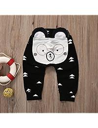 Zooarts bébé enfants garçons filles 3d Harem Pantalon Ours Moulage bébé Lovely Pantalon 0–2Y, multicolore, 70 (4-6 Months)