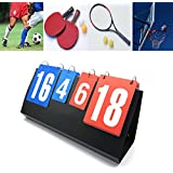 Omonic Omonic Scoreboard Portable Multi Sports Volleyball Badminton Table Tennis Set Score