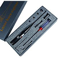 Spike laser rouge kit Bore Sighter pour 0,22-0,50 Caliber Rifles Pistolet HD1027 Chasse(sans batterie)