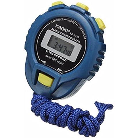 Xinantime LCD Digitale Contachilometri Cronometro Cronografo Colore Blu