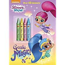 Genie Magic! (Shimmer and Shine) (Color Plus Crayons and Sticker)
