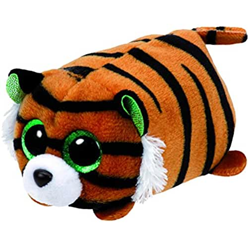peluches TY - Teeny Tys Tiggy, tigre, 10 cm (United Labels Ibérica 42137TY)
