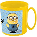 Mug/tasse de micro-ondes-motif minion stuart kevin bob - 350 ml, 10 x 9 cm/petit-déjeuner avec texte