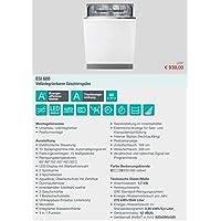 Gorenje ESI 600 Geschirrspüler vollintegriert 60cm A++