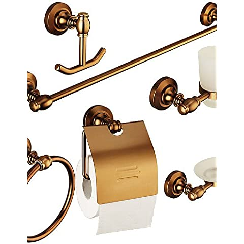 0.5 Europa Antique accessori bagno Set con 6 elementi in