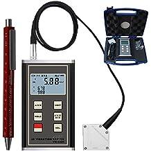 teren-vm-6380piezoeléctrico de 3ejes Acelerómetro Medidor de vibración 3d Comprobador Vibrometer Calibre