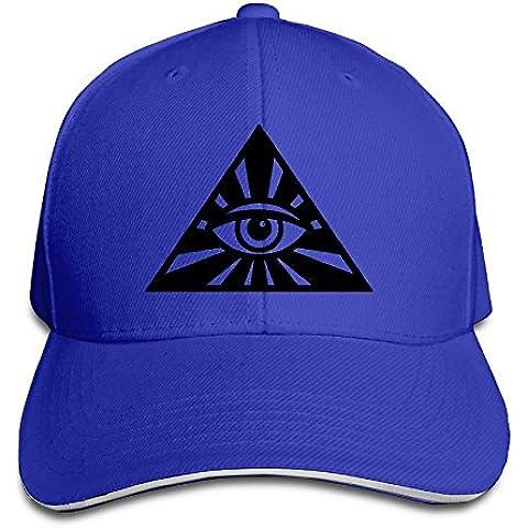 Ojo de la providencia gorras de béisbol