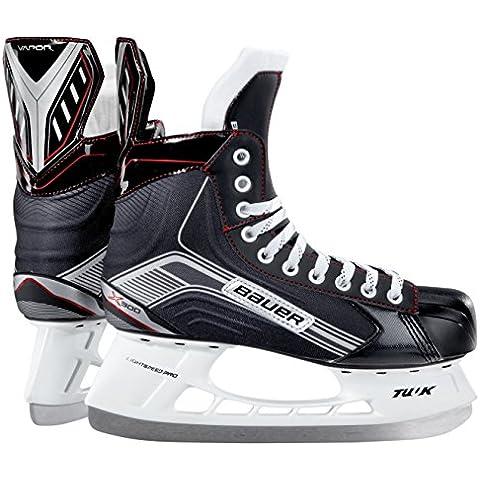 Bauer patines de hockey sobre hielo para hombre vapor X 300, otoño/invierno, color Negro - negro, tamaño 8