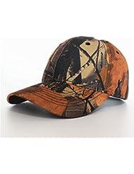 Capuchon avec motif camouflage marron/vert pour chasse et pêche extérieur et les loisirs
