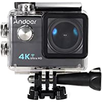 "Andoer® 2.0 ""LCD 4K WiFi Ultra HD Sport azione 16MP 25FPS 1080P 60FPS 4X Zoom 25mm 173 Degree Wide-Lens Impermeabile 30M dell"