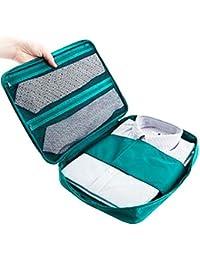 Sevia Portable Travel Shirt Aanti-Wrinkle Organizer Slim Shirt Pouch For Business Men 2 Shirt 2 Tie Holding Waterproof...