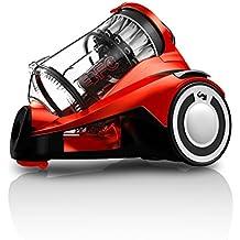 Dirt Devil Infinity Rebel 55 HFC - Aspirador sin bolsa, multiciclónico, boquilla rectangular parquet, Clase de eficiencia energética A