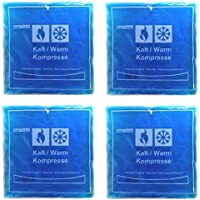 4er Set Kalt Warm Gel Kompressen eckig 150g | Wärmepads Kühlpads | Gelkompresse preisvergleich bei billige-tabletten.eu