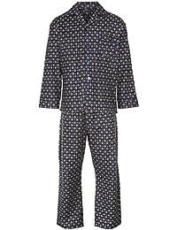 Champion Ensemble du Pyjama Long Finette Motif à Losange Hiver Homme