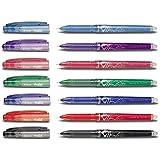 Frixion Point - Ultra Fine Erasable Rollerball Pen - Set van 7 verschillende kleuren