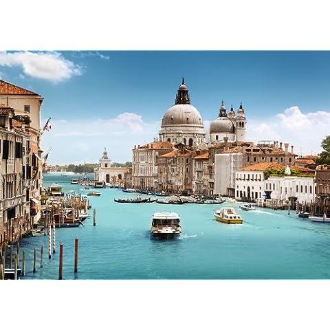 Mural Foto Papel pintado Basílica de Venecia KT286papel pintado Venecia Canale Grande Venice WTD–Papel pintado Tamaño: 420x 270cm papel pintado Supersize diseño en papel pintado pasta