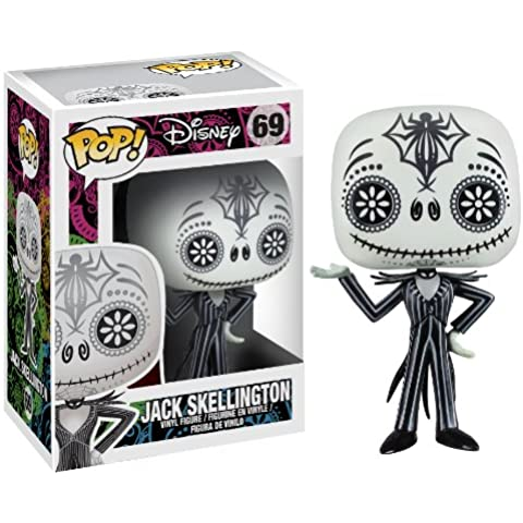 FUNKO Nightmare Before Christmas - Day of the Dead Jack Skellington Collectible figure Disney: Nightmare Before Christmas - action figures & collectibles (Collectible figure, Dibujos animados, Disney: Nightmare Before Christmas, Negro, Color blanco, Vinilo, Caja)