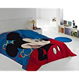 QUILT WINTER Edredón Nórdico DISNEY MICKEY MOUSE I´M HAPPY 180X260 CMS ( camas de 90/105) + REGALO EXCLUSIVO