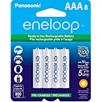 بطاريات باناسونيك  انيلوب حجم  Panasonic eneloop Rechargeable Batteries AAA