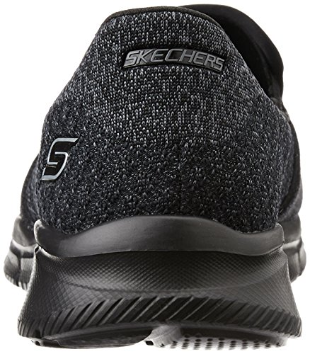 Skechers EqualizerSay Something, Baskets Basses Femme Black