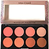 Miss Claire Miss Claire Makeup Palette 1, Multi, 16 Grams, Multicolor, 16 g