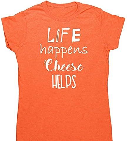 HippoWarehouse - T-shirt - Femme X-Large - orange - Large