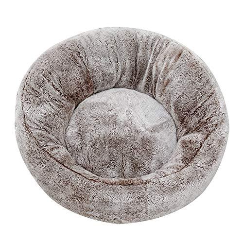 Segle Hundebett/Haustierbett, Wasserdichte Unterseite, runde Form, weiche Donut-Form, luxuriös, für Katzen, Welpen und kleine Hunde -