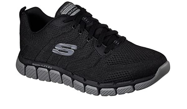 Skechers Men's Skech Flex 2.0 Milwee Sneakers Style 52619 BKCC