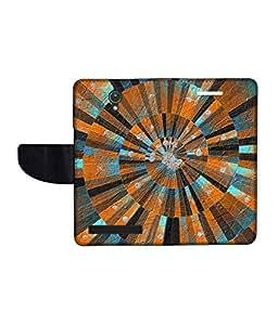 KolorEdge Printed Flip Cover For Asus Zenfone C Multicolor - (47KeMLogo11728ZenC)