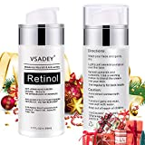 VSADEY 2.5% Active Retinol Cream for Face Anti aging Wrinkle Moisturizing Cream Night